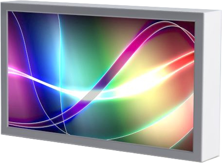 Full-Outdoor 55″ LCD Monitor / Touchscreen